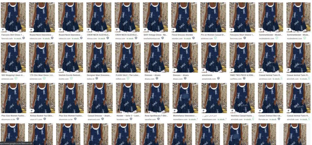 v-neck dress google search