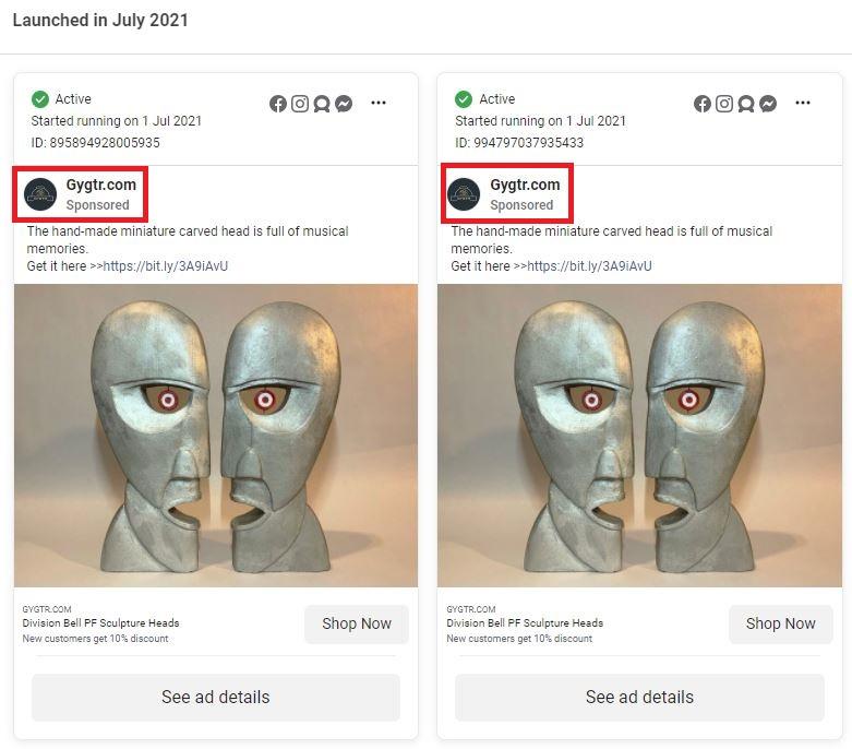Gygtr scam facebook ads 1