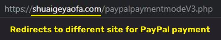 shuaigeyaofa scam paypal