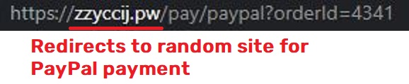 cglmn scam paypal redirect