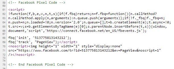 Huntersothebysrealty scam facebook pixel tracking code
