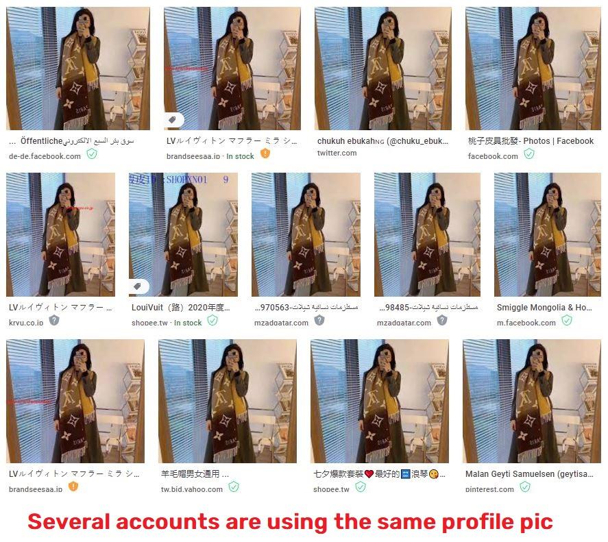 fake profile image whatsapp