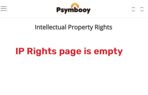 fake intellectual property rights