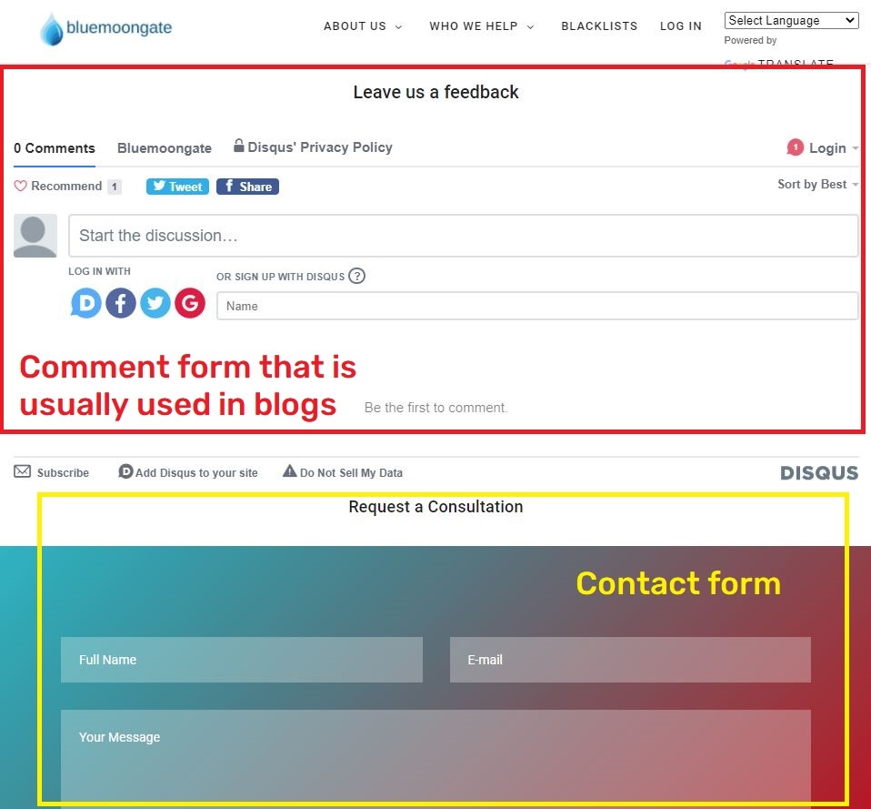avastsecurity bluemoongate knoxshield scam contact form