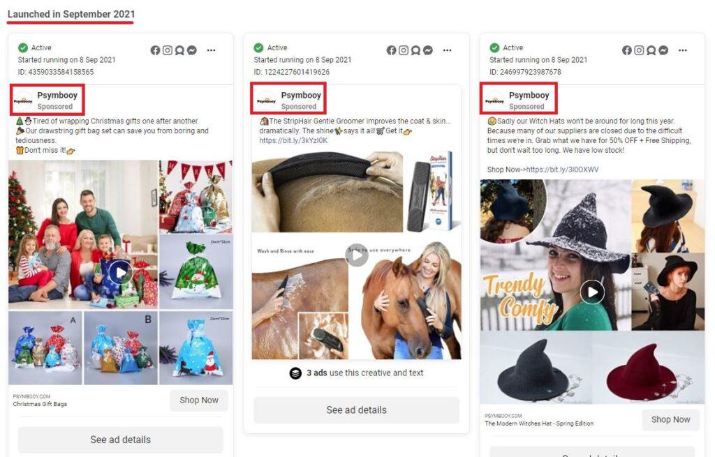 psymbooy scam facebook ads