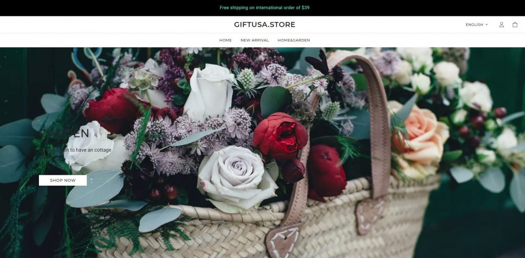 giftusa store scam home page