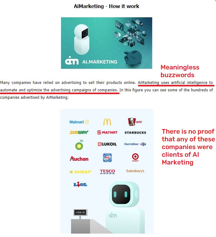 inb network ai marketing scam fake process 1