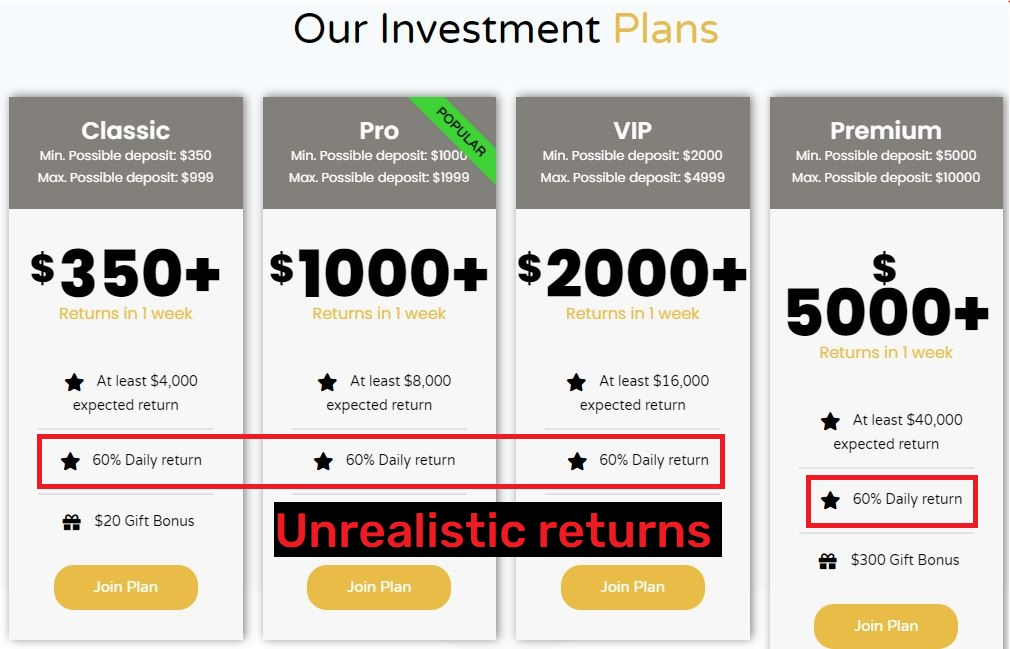 plonultimate scam investment plans